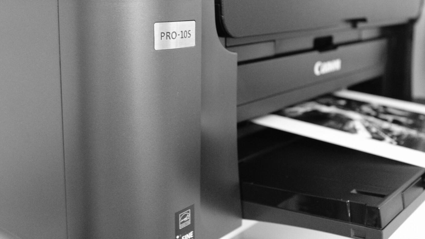 Canon Pixma Pro 10s printing - Joakim Jormelin